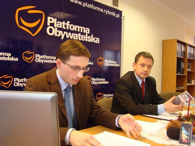 Piotr Kuczera i Marek Krząkała