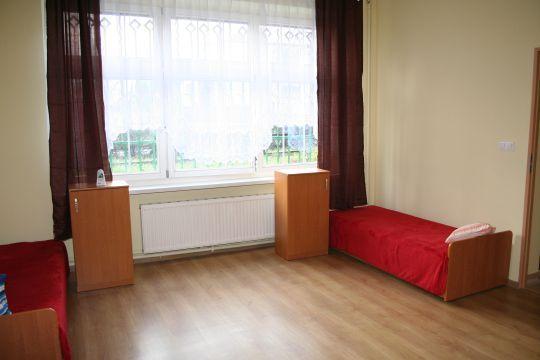 Jedno z wyremontowanych pomieszczeń