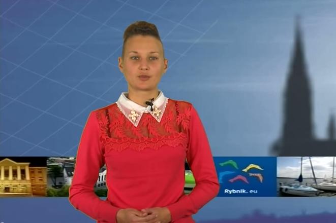 Kadr z Miejskiego Programu Informacyjnego produkowanego przez telewizję TVT