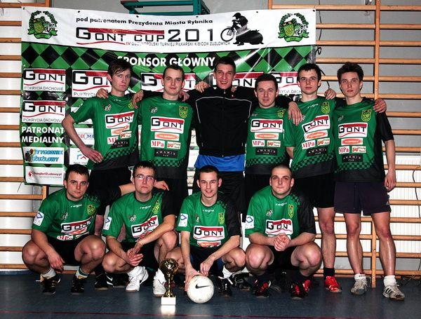 Zwycięska drużyna z Rybnika