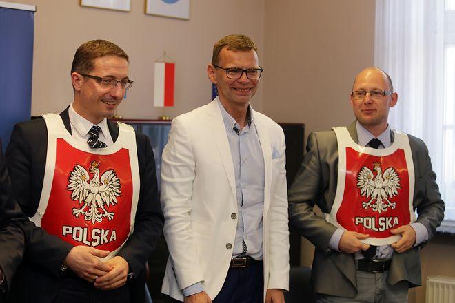 Piotr Kuczera, Piotr Szymański i Piotr Masłowski