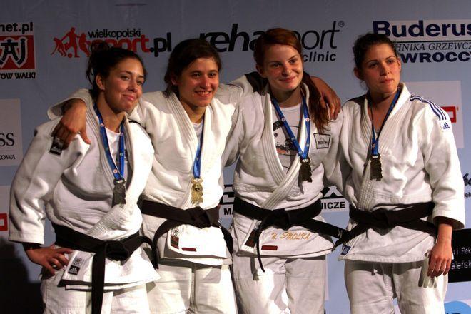 Agata Perenc ze złotym medalem.