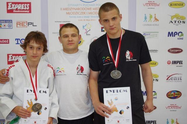 Łukasz Wala, Ariel Kuśka i Paweł Kejza