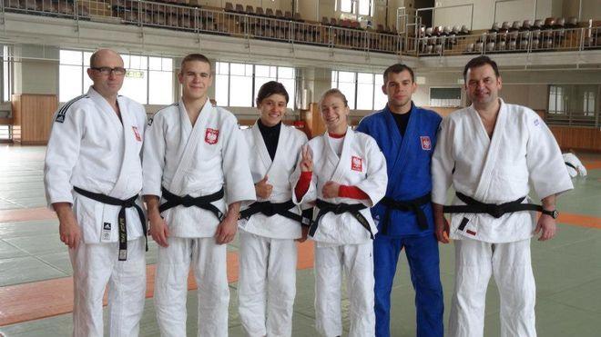 Polska ekipa podczas treningu w Tokio