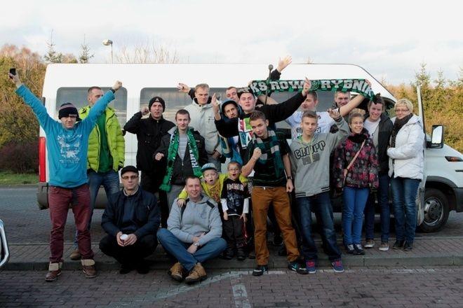 Kibice Basket ROW-u podczas wyjazdu do Krakowa