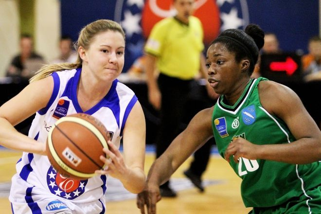 Alexis Rack (KK ROW) zdobyła w Gorzowie 15 punktów