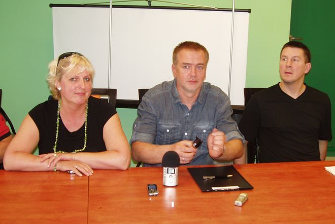 Gabriela Wistuba, Kazimierz Mikołajec i Adam Rener