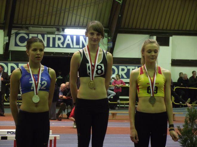 Podczas zawodów w Spale Paulina Potyka zdobyła złoty medal