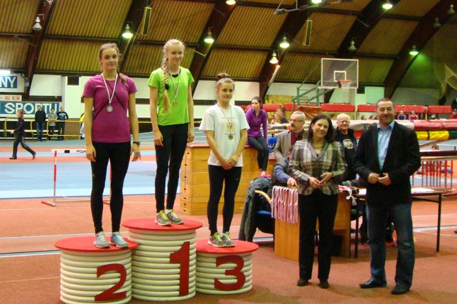 Magdalena Stępień na najwyższym stopniu podium