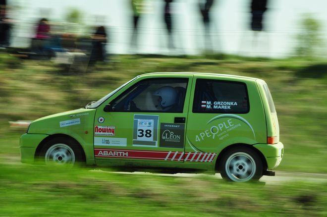 Załoga MG Rally Group w klasie II zajęła trzecie miejsce