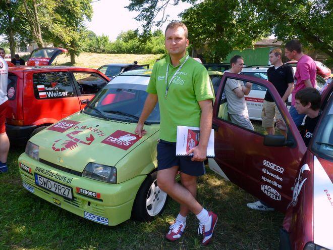 Mariusz Marek - pilot załogi MG Rally Group