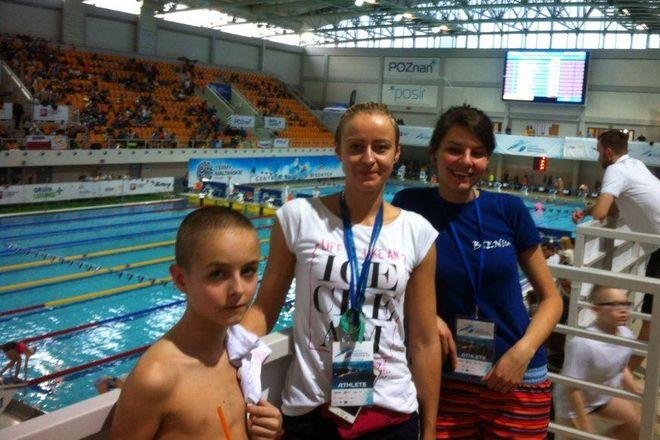 Kacper Duda, Anna Duda i Agnieszka Bieniak
