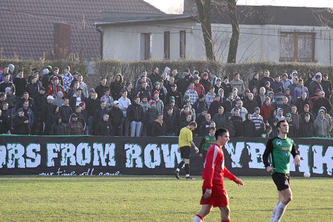 Piłkarze ROW-u mogli liczyć w Żorach na głośny doping swoich kibiców