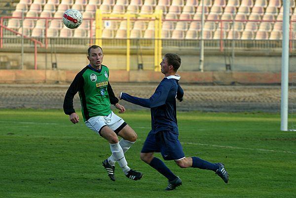 W meczu ze Startem Tomasz Kuś zdobył gola z rzutu karnego