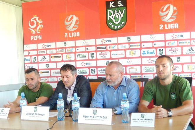 Marcin Grolik, Dietmar Brehmer, Henryk Frystacki i Marek Gładkowski