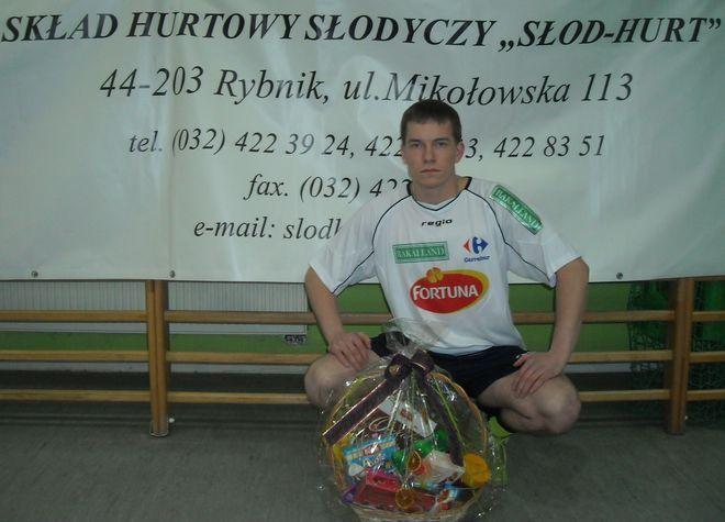 Najlepszy piłkarz III rundy finałowej - Marek Krótki