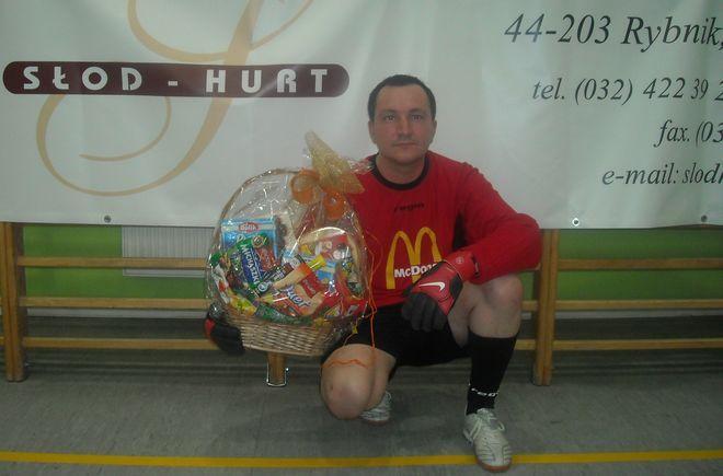 Najlepszy piłkarz III kolejki spotkań - Marcin Magoń (Mc Donald's)