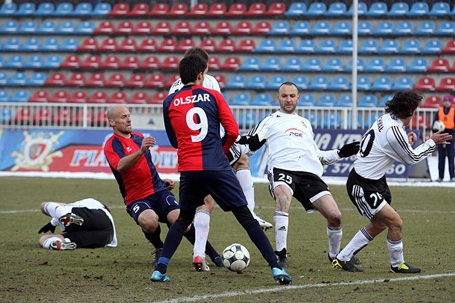 Do tej pory Piast Gliwice mecze w roli gospodarza rozgrywał w Wodzisławiu Śl.