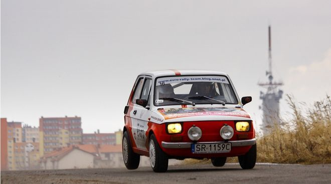 Rybnicka załoga EvRo Rally Team