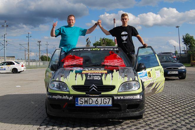 Mariusz Marek i Mateusz Glenc