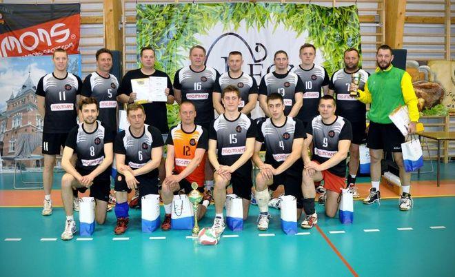 Mistrz Amatorskiej Ligi Piłki Siatkowej Leon Internet w sezonie 2014/2015: Dwójka Świerklany Projtrans.