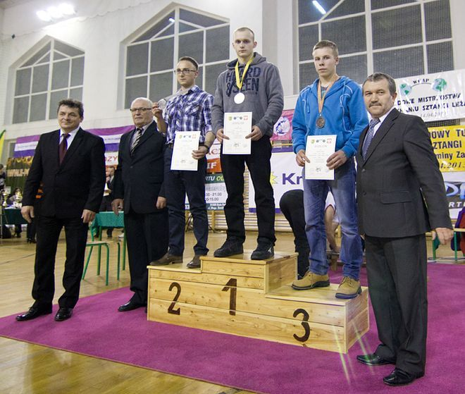 Trzecie złoto  przywiózł Jacek Brodzik z klubu TL ROW Rybnik.