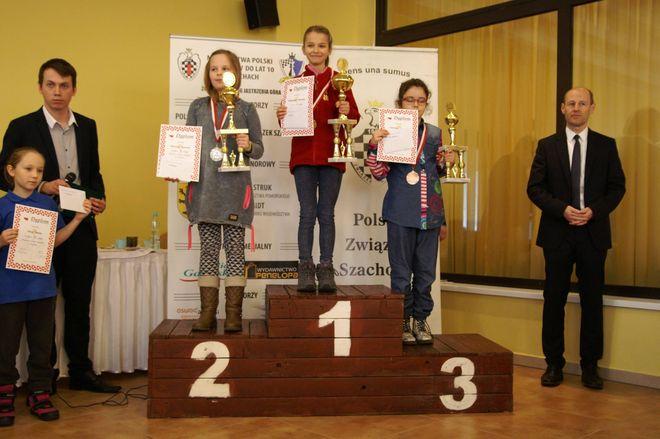 Martyna Starosta na drugim stopniu podium