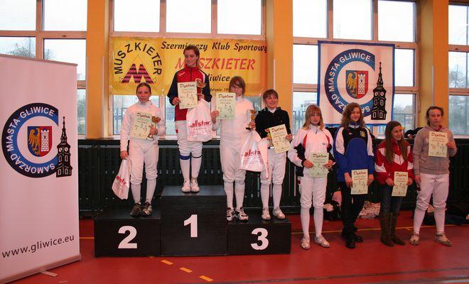 Anna Mroszczak na drugim stopniu podium
