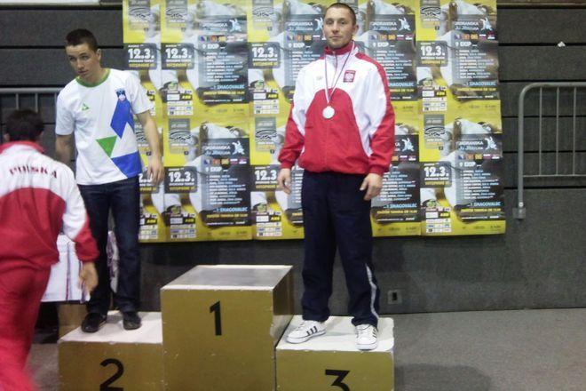 Bartłomiej Bednarczyk na trzecim stopniu podium w Mariborze