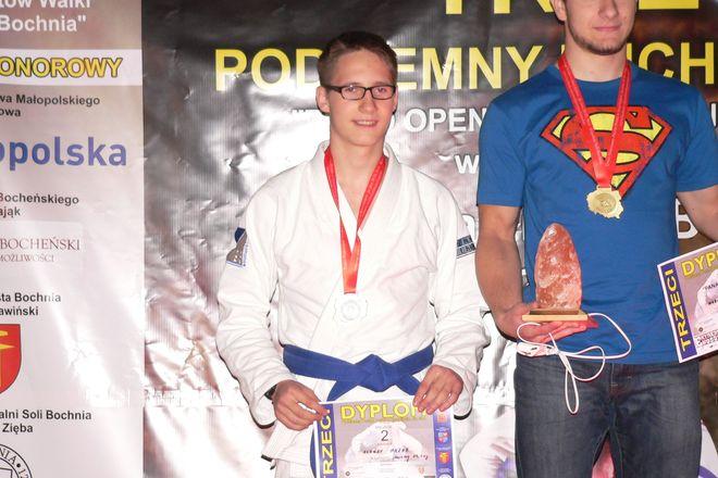 Aleksy Mazur 84kg, juniorzy, srebrny medal