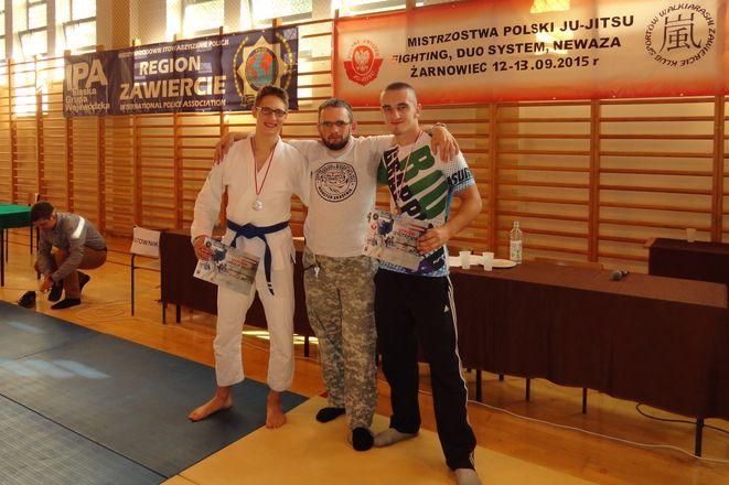 Od lewej: Aleksy Mazur, Dariusz Mazur i Seweryn Radtke