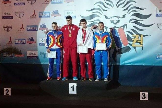Dawid Gabryluk z brązowym medalem