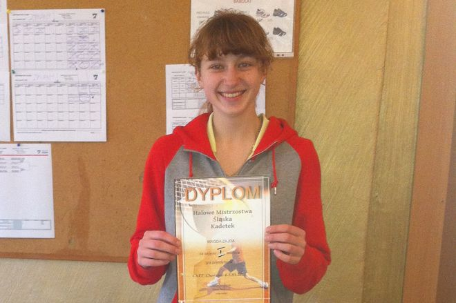 Magdalena Zajda wygrała zawody w Chorzowie