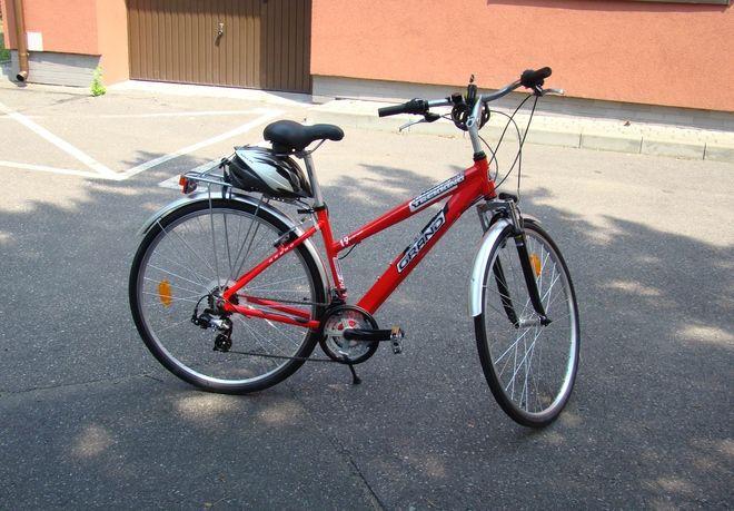 Dokładnie ten rower stał się obiektem pożądania złodzieja