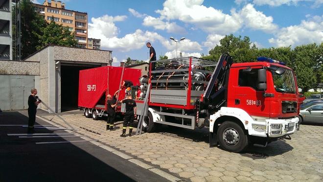 Rybniccy strażacy wyruszyli do Bośni w środę po południu