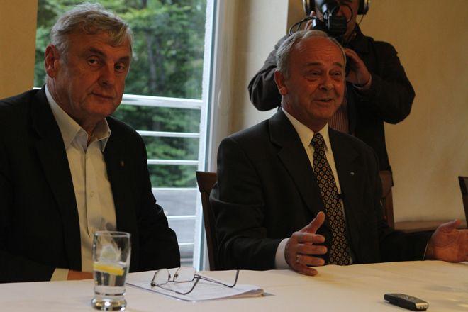To prezydent Adam Fudali zaproponował Bogusławowi Biegeszowi kandydowanie na senatora.