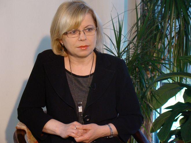 Gabriela Lenartowicz jest wymieniana w gronie potencjalnych kandydatów na marszałka