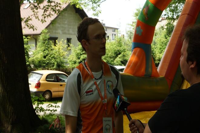 Michał Toman zachęca do aktywności fizycznej