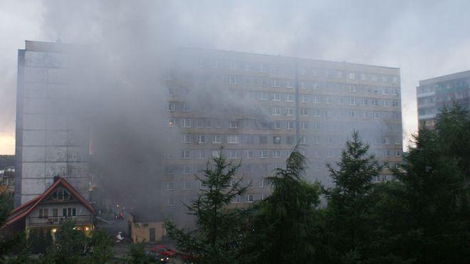 Zdjęcia z pożaru nadesłali nam nasi czytelnicy