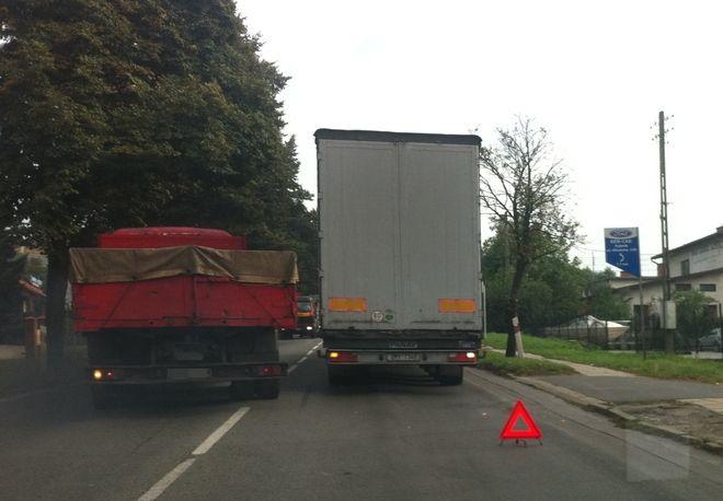 Zdjęcie nadesłał nam jeden z kierowców przejeżdżających w tym miejscu