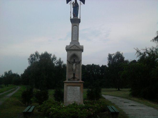 Okradziona kapliczka w Orzepowicach