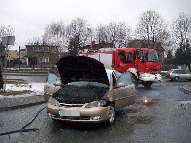 Zdjęcia z pożaru chevroleta nadesłał nam jeden z czytelników