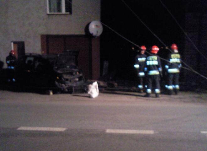 Zdjęcia z wypadku nadesłał nam jeden z czytelników