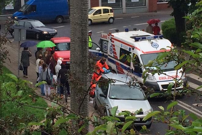 Zdjęcie z wypadku nadesłał nam jeden z naszych czytelników