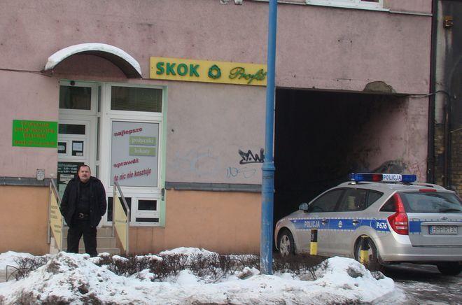 Do napadu doszło w placówce SKOK Profit