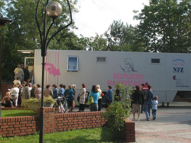 Mammografię będzie można wykonać od środy do piątku w Świerklanach