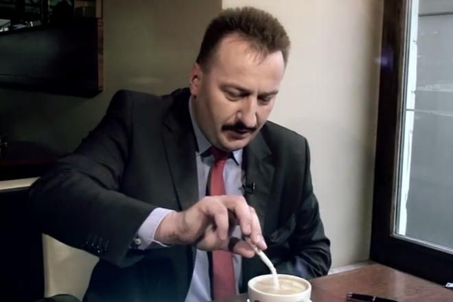 Prezes rybnickiego klubu był ostatnio gościem Wacława Wrany w programie ''Dziękuję, nie słodzę''